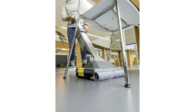 Produktvorstellung Scheuersaugmaschine BR 30/1 von Kärcher: Akkubetrieb und kurze Trocknungsphase - News, Bild 1