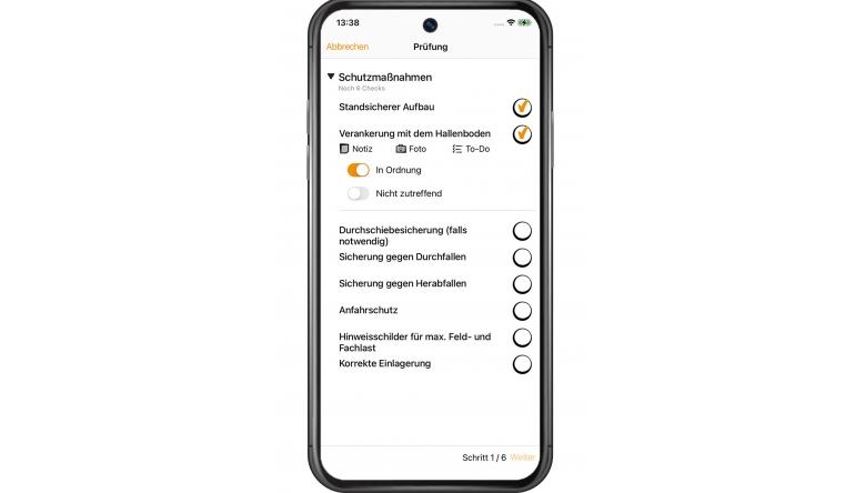 Arbeitsschutz Neue App ermöglicht Regalprüfung auf dem Smartphone - News, Bild 1