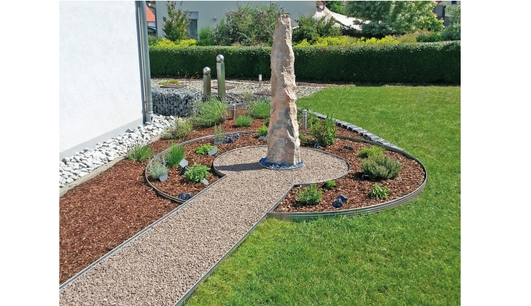 Rund ums Haus Kreativ Gärten gestalten mit stilvollen Randbegrenzungen - News, Bild 1