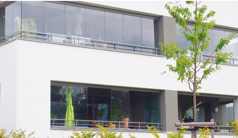 Rund ums Haus Lumon präsentiert Balkon- und Terrassenverglasungen auf der Messe BAU 2019 - News, Bild 1