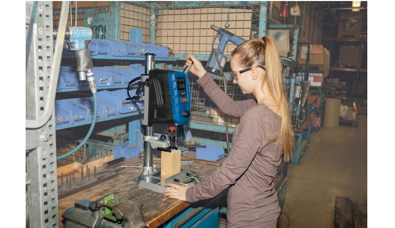 E-Werkzeuge Netz Scheppach DP60 Tischbohrmaschine mit Laser und 2-Gang-Getriebe für Heimwerker und Profis. - News, Bild 1