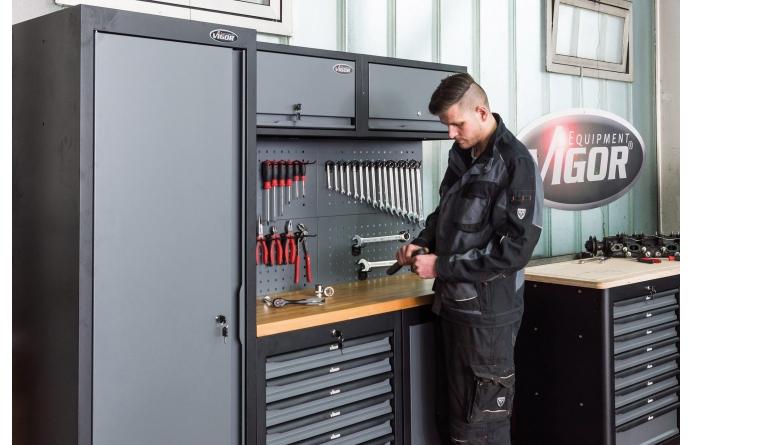Werkstatteinrichtung Stabile Schrankwandsysteme für die aufgeräumte Werkstatt - News, Bild 1