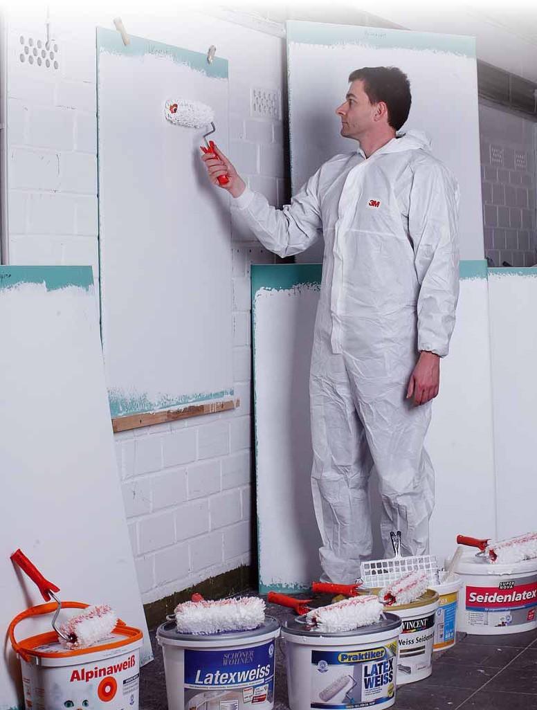 Test Innenfarben Wand Alpina Farben Seidenlatex