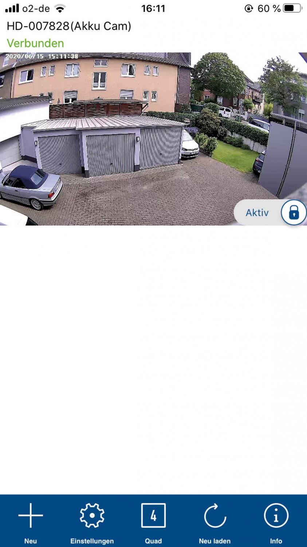 Videoüberwachungsanlage Abus WLAN Akku Cam im Test, Bild 8