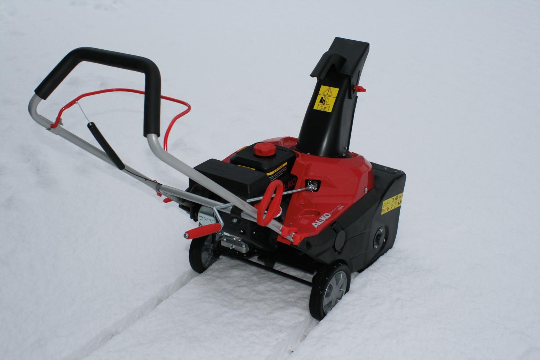 Schneefräsen AL-KO Snowline 55E im Test, Bild 1