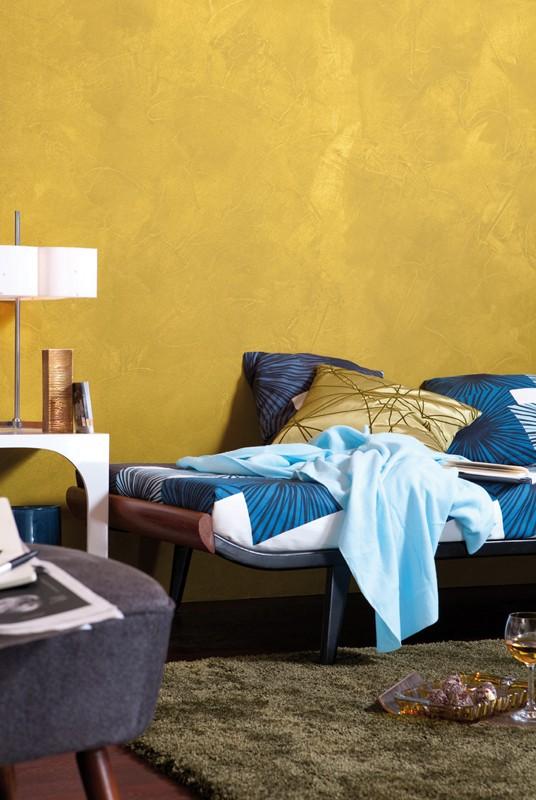 test innenfarben wand alpina farben goldrausch sehr gut. Black Bedroom Furniture Sets. Home Design Ideas