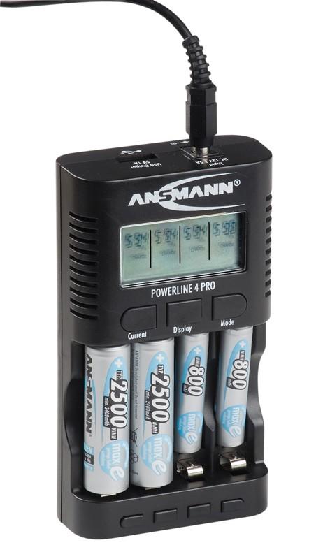 Akku-Ladegeräte Ansmann Powerline 4 Pro im Test, Bild 2