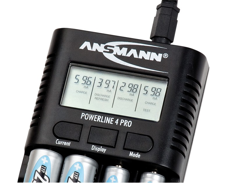 Akku-Ladegeräte Ansmann Powerline 4 Pro im Test, Bild 3