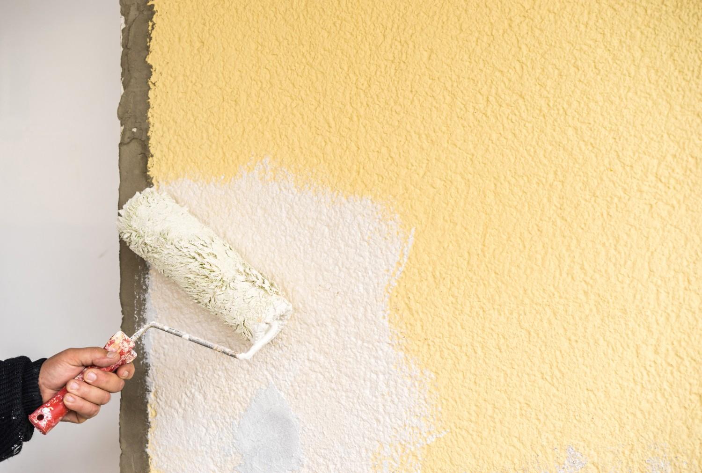 Aussenfarben-Wand Derendo Fassadenweiss im Test, Bild 1