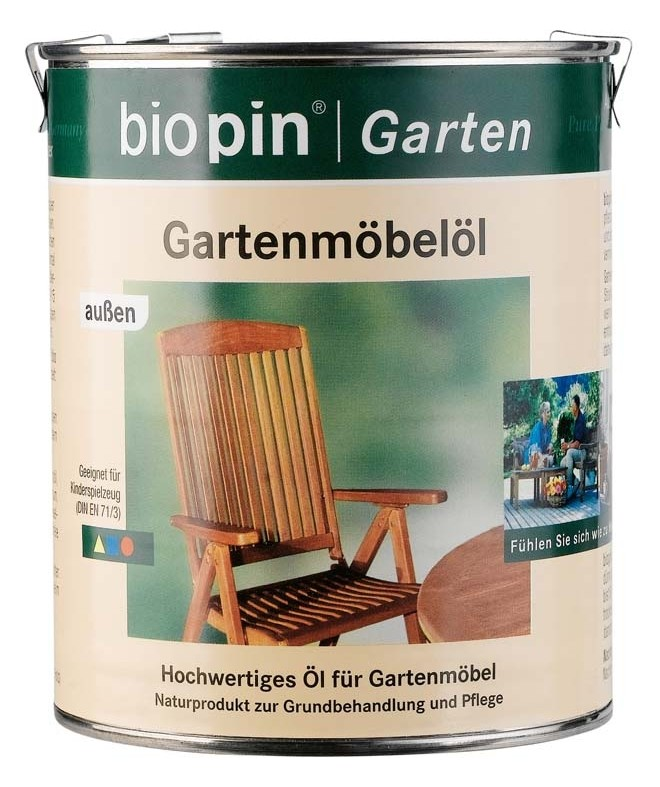 test holz le biopin gartenm bel l sehr gut. Black Bedroom Furniture Sets. Home Design Ideas