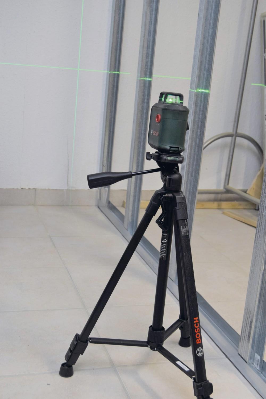 Sonstige Elektrowerkzeuge Akku Bosch Advanced Level 360 Set im Test, Bild 3