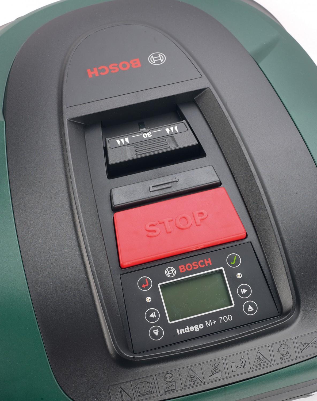 Roboter-Rasenmäher Bosch Indego M+ 700 im Test, Bild 2