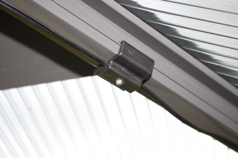 "Rund ums Haus Brast Alu-Pavillon ""Premium"" Summerdream 3 x 4 m grau inkl. LEDs im Test, Bild 5"
