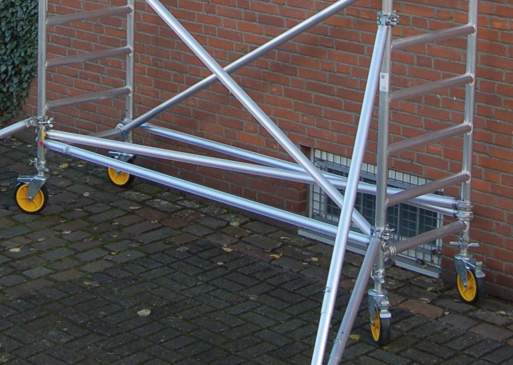 Leitern Custers CR Aluminium-Rollgerüst 70-180 im Test, Bild 5