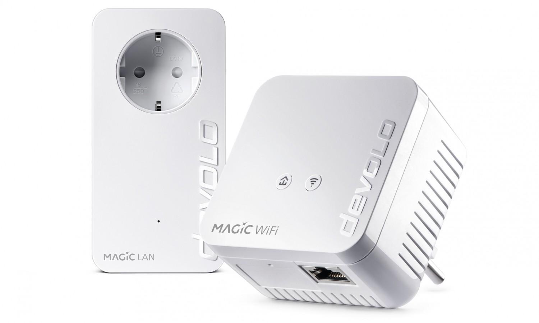 Netzwerk Zubehör Devolo Magic 1 WiFi mini Starter Kit im Test, Bild 2
