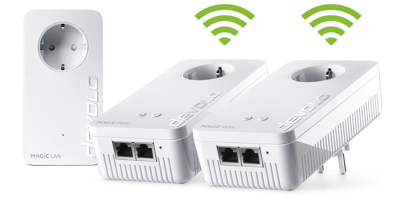 Netzwerk Zubehör Devolo Magic 2 WiFi next Multiroom Kit im Test, Bild 2