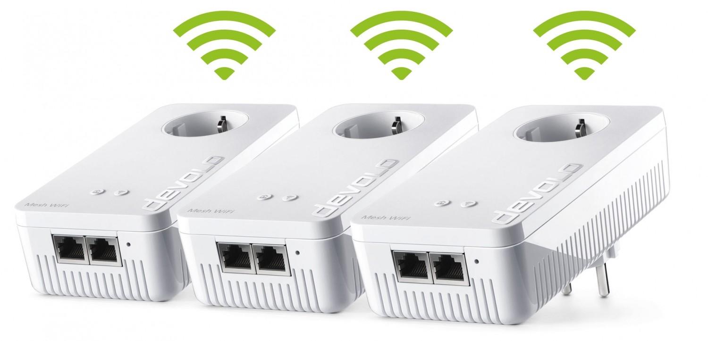 Netzwerk Zubehör Devolo Mesh WLAN 2 Multiroom Kit im Test, Bild 4
