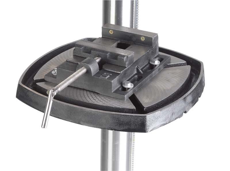 Bohrmaschinen-Stationär: Drei riemengetriebene Säulenbohrmaschinen im Vergleich, Bild 3
