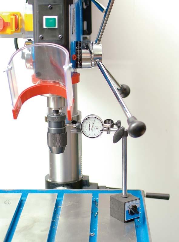 Bohrmaschinen-Stationär: Drei riemengetriebene Säulenbohrmaschinen im Vergleich, Bild 4