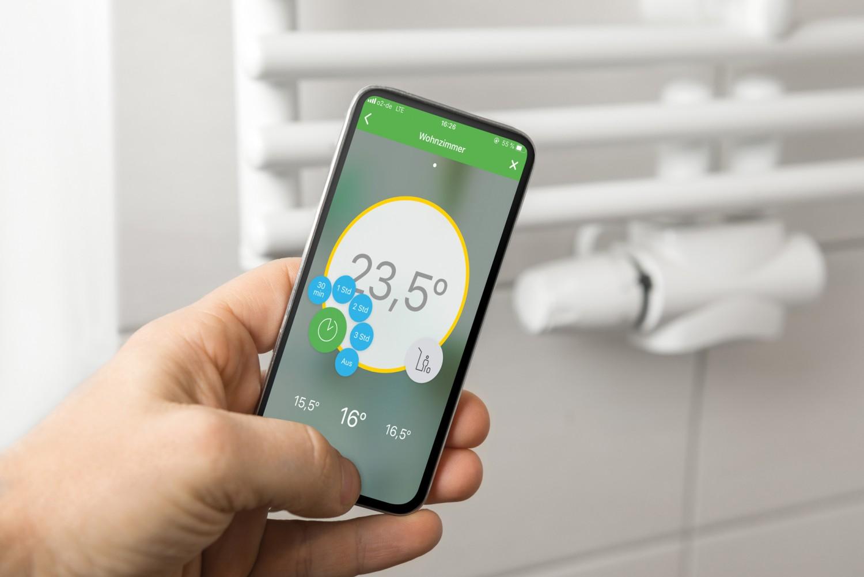 Heizkörperthermostat Eberle Wiser Starterkit, Gigaset thermostat 3er pack im Test , Bild 1