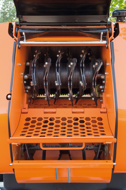 Gewerbliche Werkzeuge Eliet Mega Prof Häcksler im Test, Bild 5