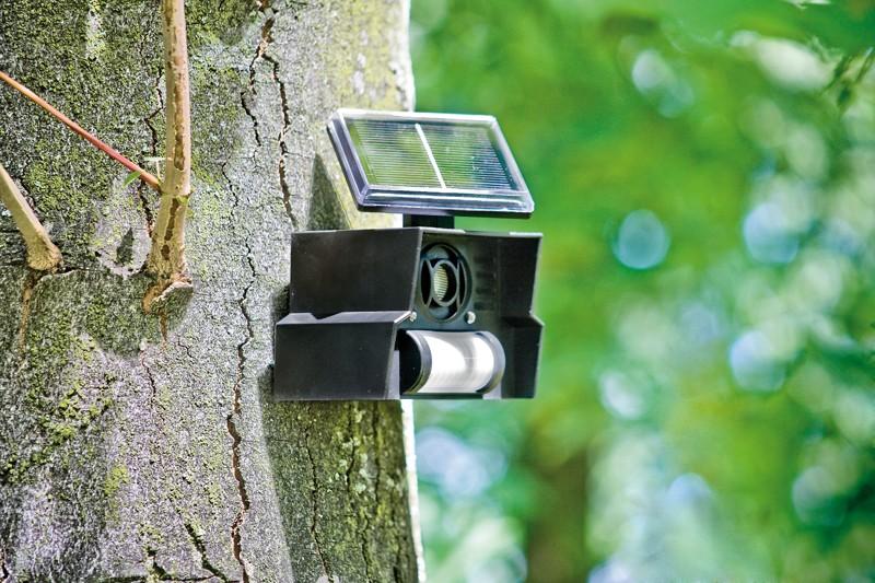 Sonstige Gartengeräte Gardigo Solar-Vogelabwehr im Test, Bild 1