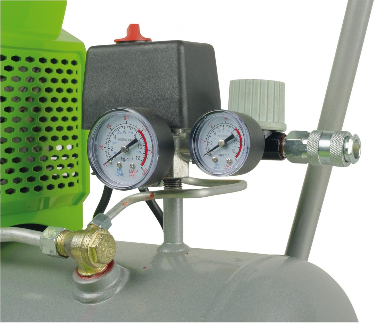 Kompressoren und Druckluftwerkzeuge Greenworks 4101402, Greenworks GAC24L im Test , Bild 2