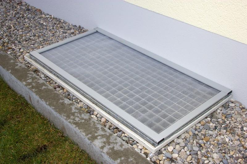 Test Sonstiges Haustechnik Hecht Lichtschacht Kellerabdeckung