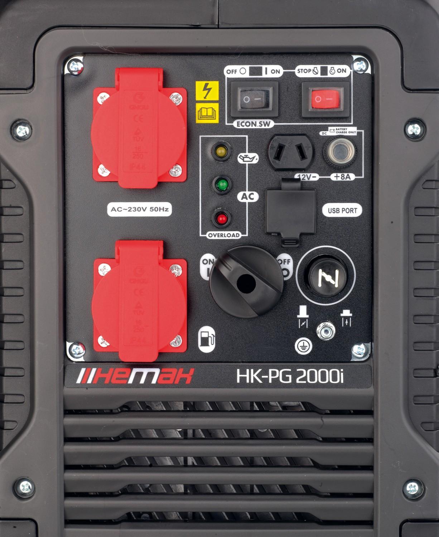 Generatoren Hemak Inverter Stromerzeuger HK-PG 2000i im Test, Bild 2
