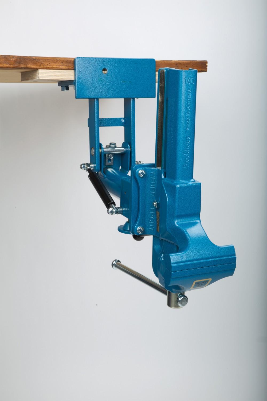 Gewerbliche Werkzeuge Heuer Schraubstock 140 mm im Test, Bild 2