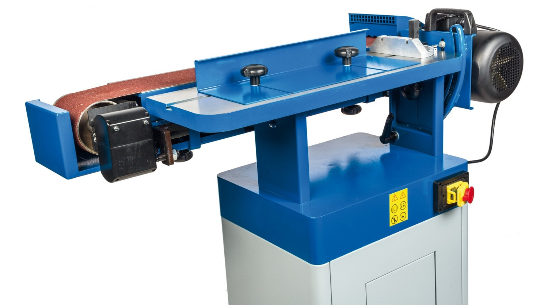 test bandschleifer netzbetrieb - holzprofi pichlmann mm2260 - sehr