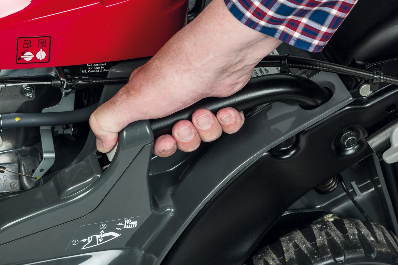 Handrasenmäher-Benzin Honda HRX476C2VKE im Test, Bild 2