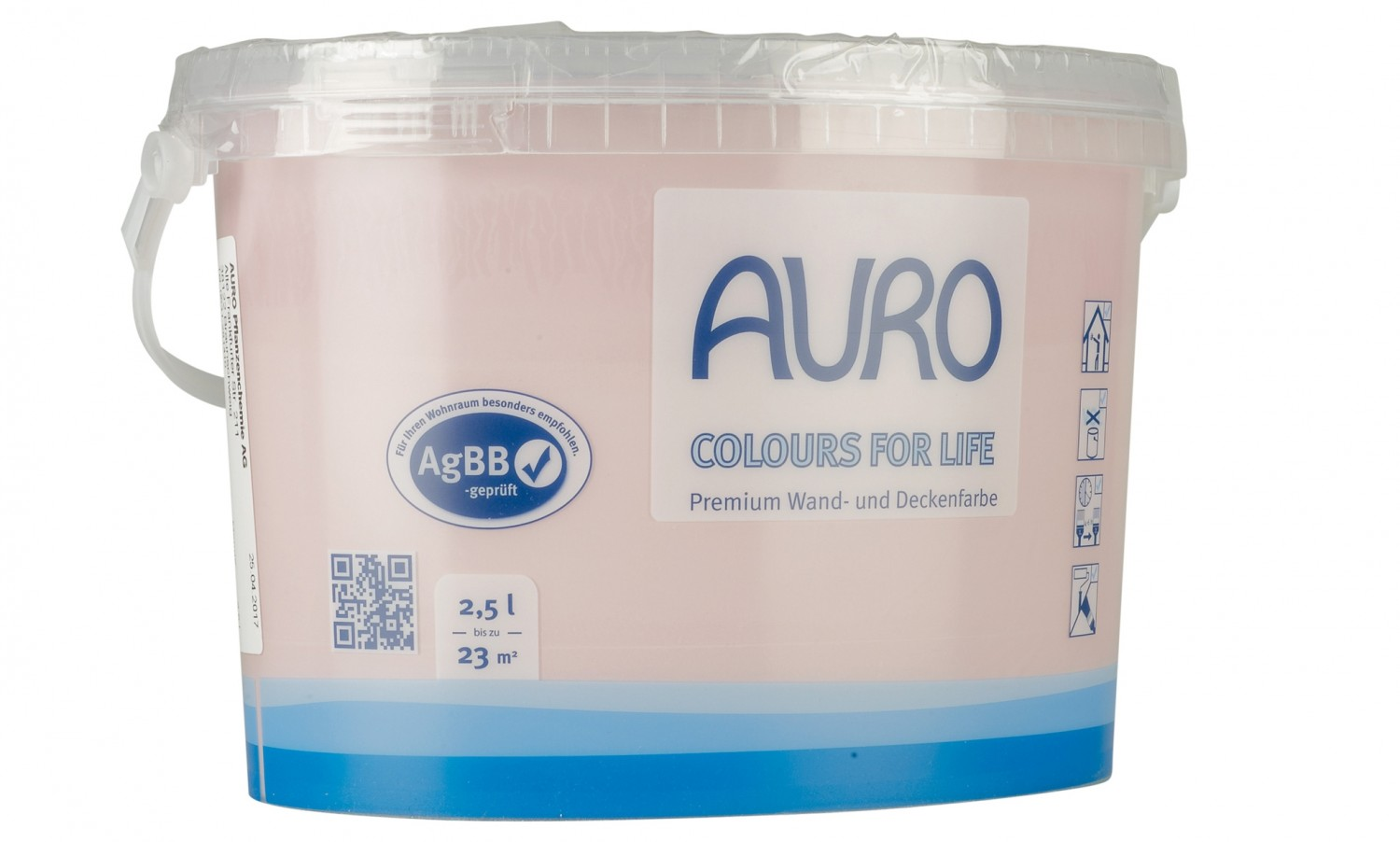 test innenfarben-wand - auro colours for life - sehr gut