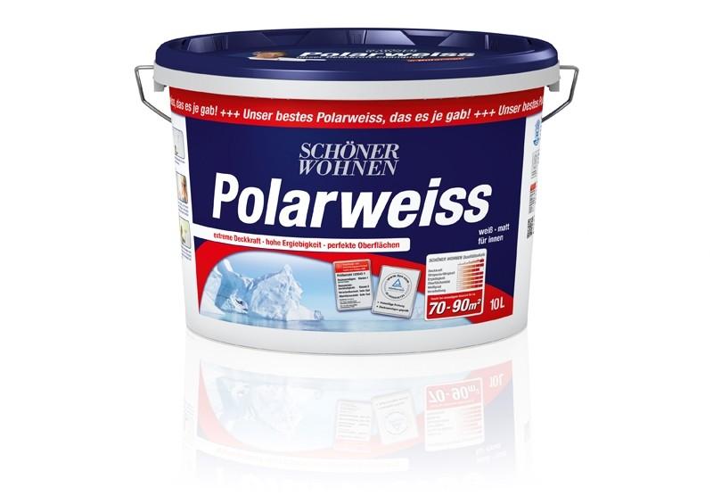 Test Innenfarben-Wand - Schu00f6ner Wohnen Polarweiss - sehr gut