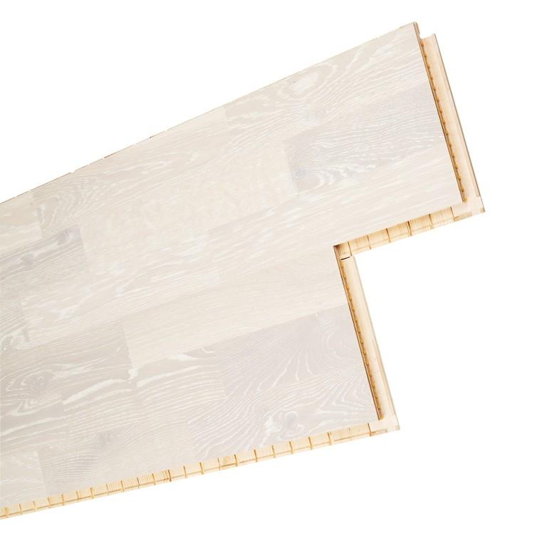 test bodenbel ge holz parkett k hrs 15 mm limestone eiche matt lack wei sehr gut. Black Bedroom Furniture Sets. Home Design Ideas