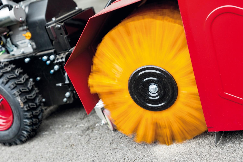 test kehrmaschinen - knappwulf kehrmaschine kw250se - sehr gut