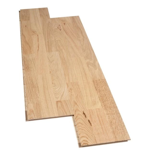test bodenbel ge holz parkett logoclic eiche schiffsboden 3 stab lackiert sehr gut. Black Bedroom Furniture Sets. Home Design Ideas