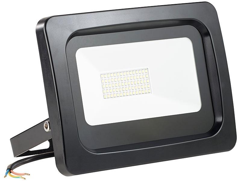 test beleuchtung luminea wetterfester led fluter nx5724 bildergalerie bild 1. Black Bedroom Furniture Sets. Home Design Ideas