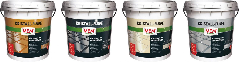 Sonstige Baustoffe MEM Fugenmasse MEM Kristall-Fuge im Test, Bild 1