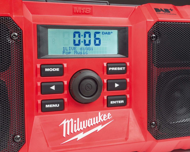 Rund ums Haus Milwaukee Baustellenradio M18 JSRDAB+ im Test, Bild 2