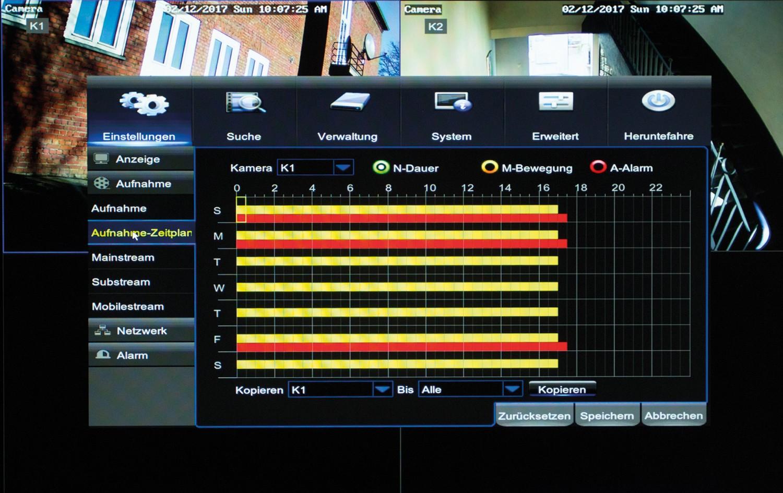 Netzwerkkamera Monacor IOZ-204DV im Test, Bild 4