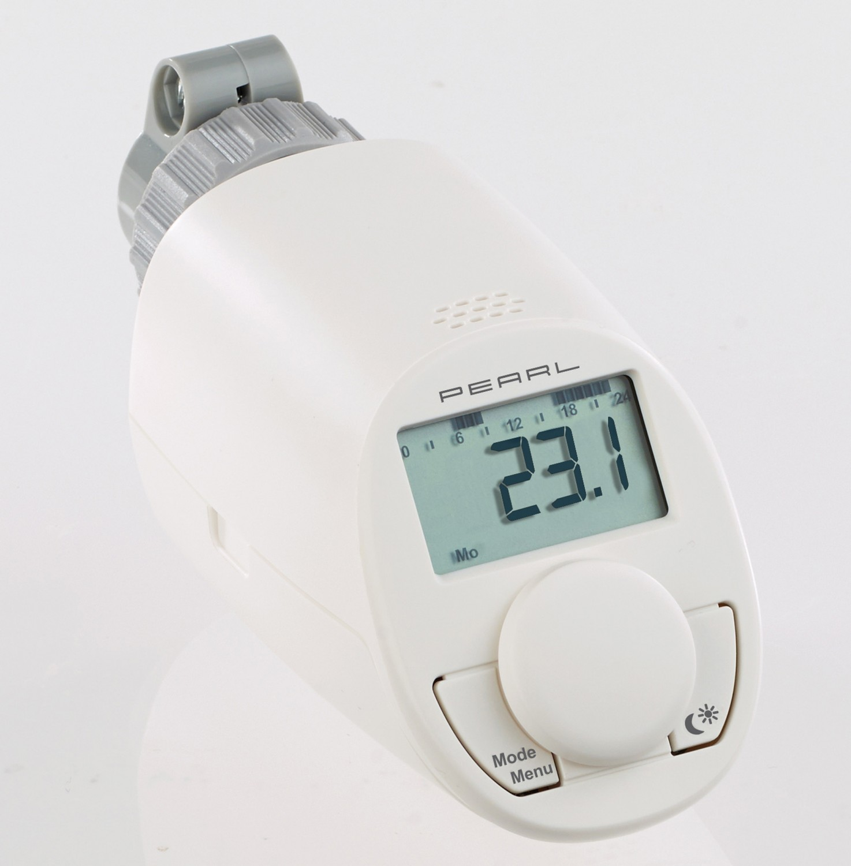 Heizkörperthermostat Pearl Energiespar-Heizkörper- Thermostat im Test, Bild 1