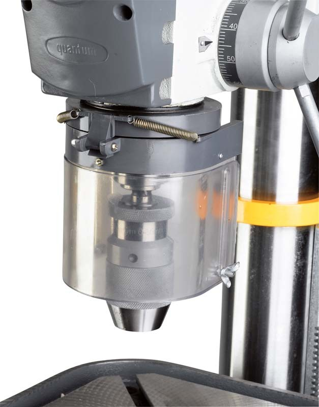Bohrmaschinen-Stationär Quantum Säulenbohrmaschine B32 im Test, Bild 13