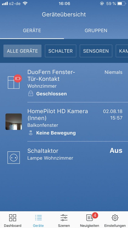 Smart Home Alarmanlage Rademacher HomePilot im Test, Bild 3