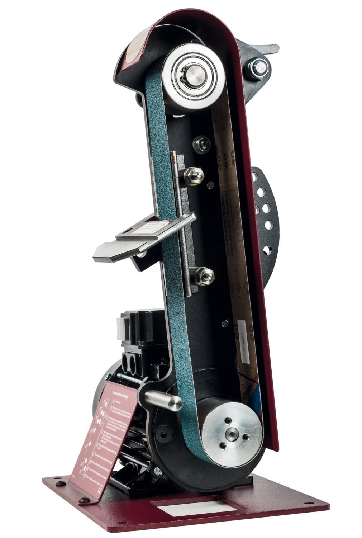 Bandschleifer Netzbetrieb Robert Sorby Schleifmaschine ProEdge im Test, Bild 4