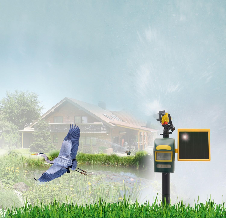 test rund ums haus gardigo solar wasser tierabwehr art nr 60082 sehr gut. Black Bedroom Furniture Sets. Home Design Ideas