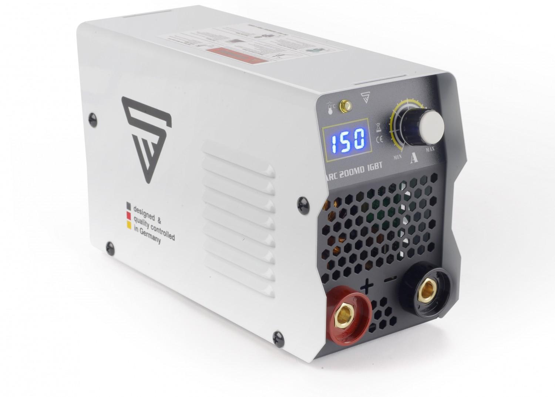 Schweißgeräte Stahlwerk Elektroden-Schweißgerät ARC 200 MD im Test, Bild 1