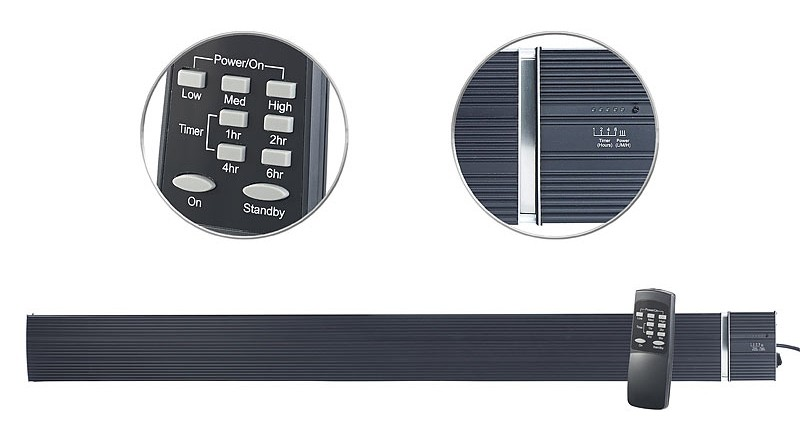 test heizungen semptec ir dunkelheizstrahler ra 332. Black Bedroom Furniture Sets. Home Design Ideas