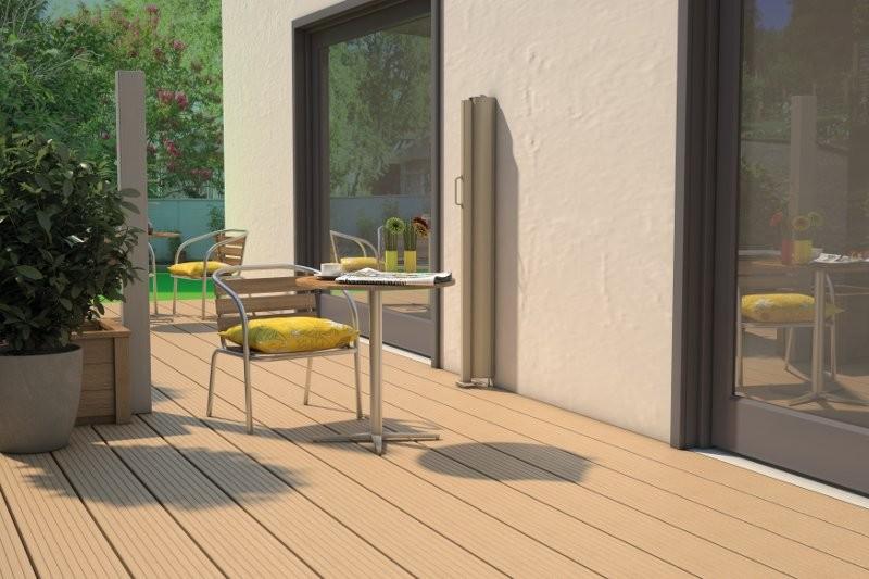 test sonstiges haustechnik hecht seitenmarkise f r. Black Bedroom Furniture Sets. Home Design Ideas