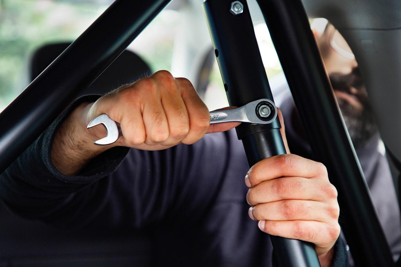 Gewerbliche Werkzeuge Stahlwille Ratschen-Ringmaulschlüssel OPEN-RATCH Nr. 17F im Test, Bild 7